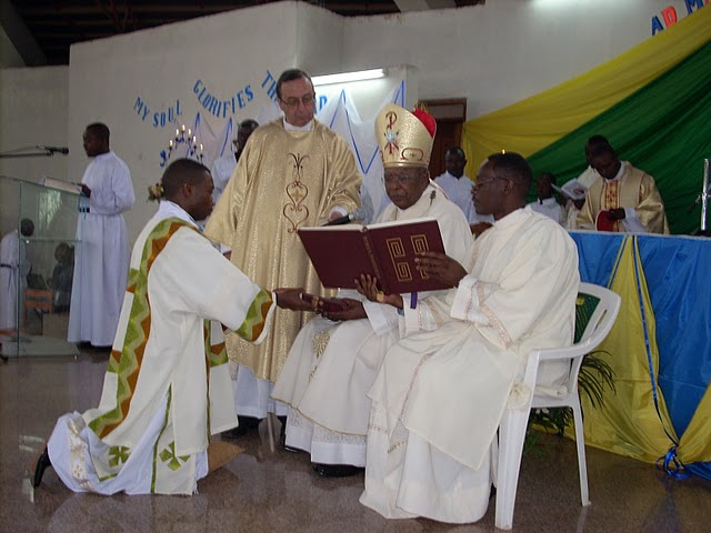 Solemn Profession and Diaconate Ordination of Br. Jean-Baptiste Kambere